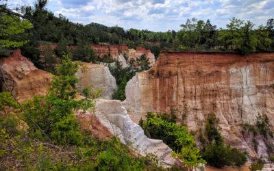Weekend Trip to Georgia's Little Grand Canyon
