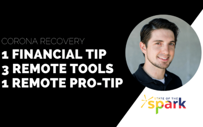 Corona RECOVERY – 1 Financial Tip, 3 Remote Tools, 1 Remote Pro-Tip