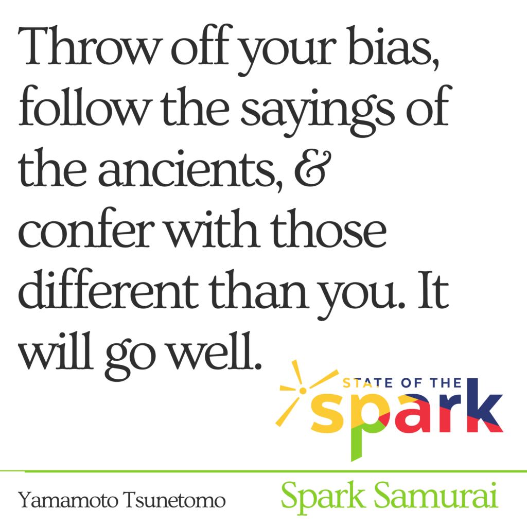 Spark Samurai - Personal Development Sayings of Samurai