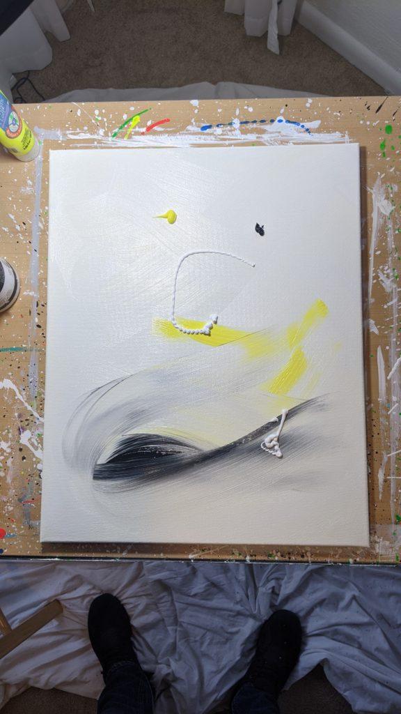 Grant Nieddu - Painting Enso